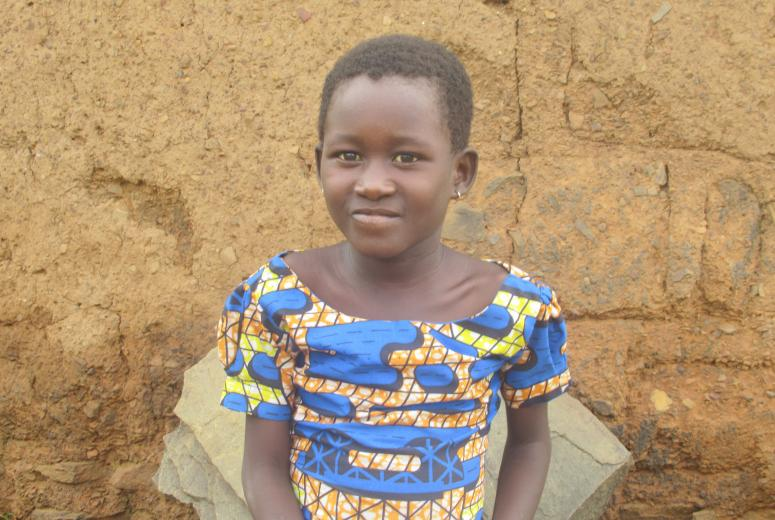 Sougleman, a girl with disabilities. Togo. Credit: Humanity & Inclusion