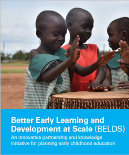 Better Early Learning and Development at Scale (BELDS). Flyer