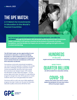 The GPE match