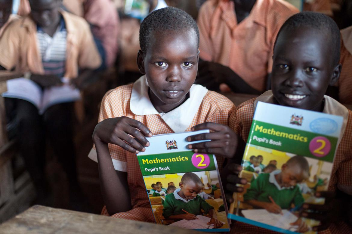 Students in class at the Kakuma refugee camp in Kenya. Credit: UNHCR/Samuel Otieno