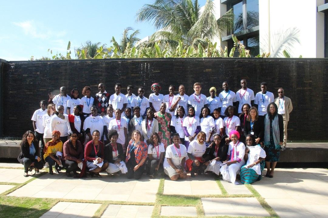 Leaders and youth advocates gathered for a workshop supported by Plan International in Dakar on Wednesday, January 31st.  Senegal, January 2018