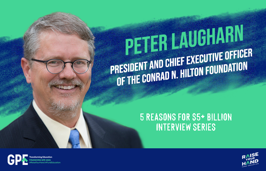 5 reasons for $5 billion: Interview with Peter Laugharn