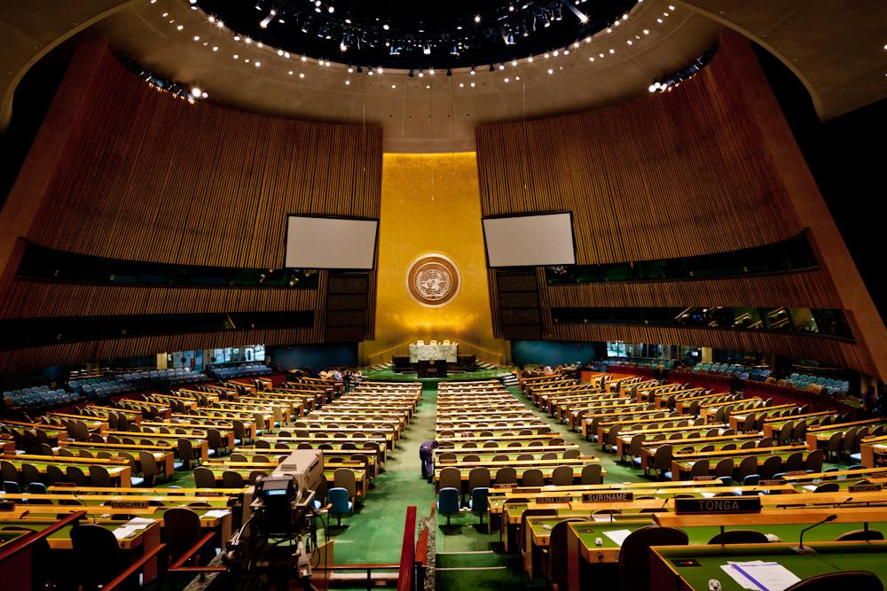 United Nations General Assembly. Credit: Art L/Flickr