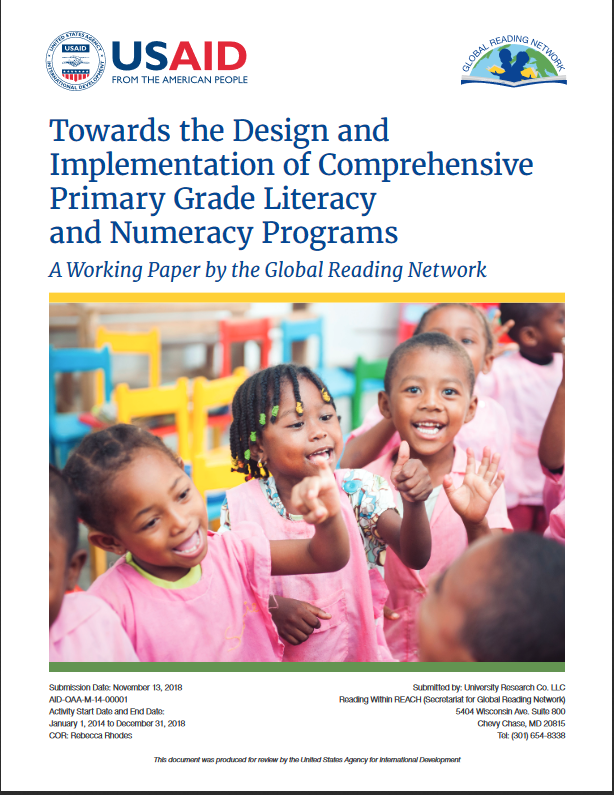 cover of How to help teachers teach reading and math in the early grades