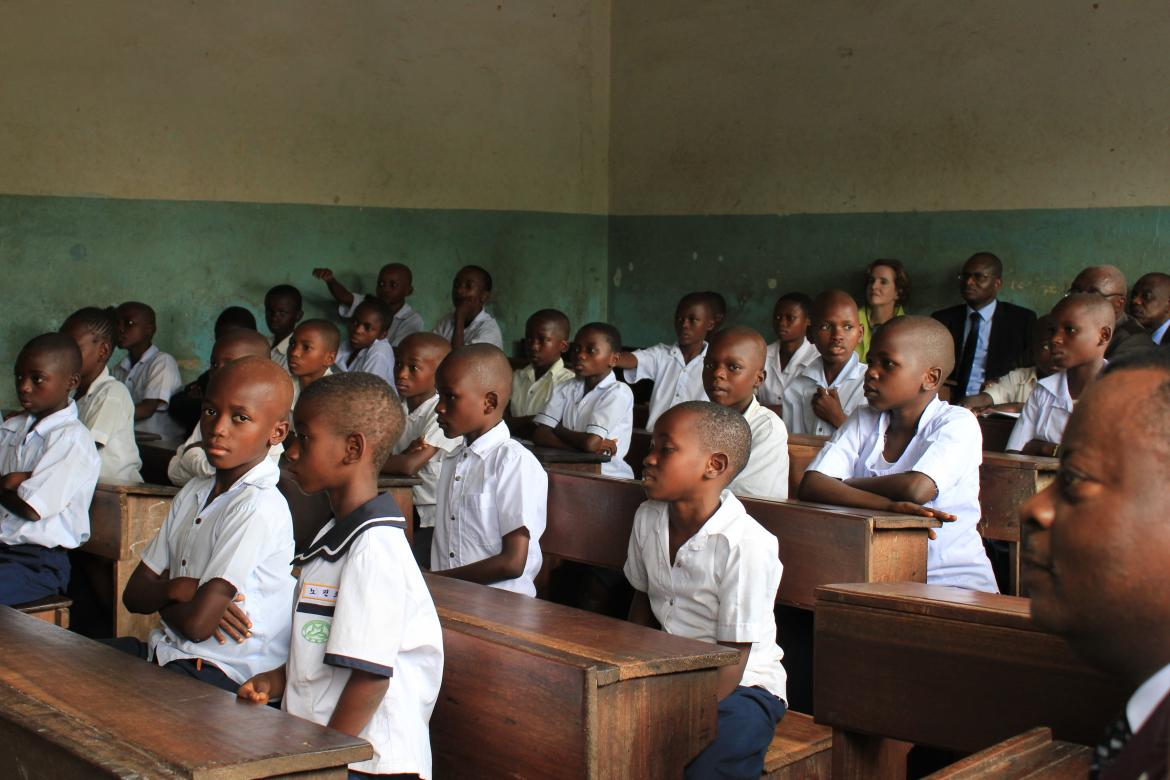 In DR Congo, more engagement for an improved education
