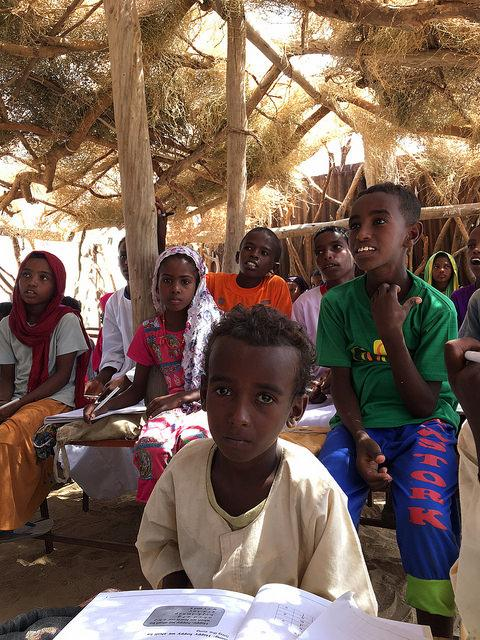 Children in class in Ghidae, Eritrea. October 2017. Credit: GPE/Fazle Rabbani