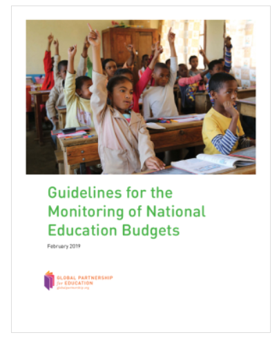 guidelines for monitoring national education budgets