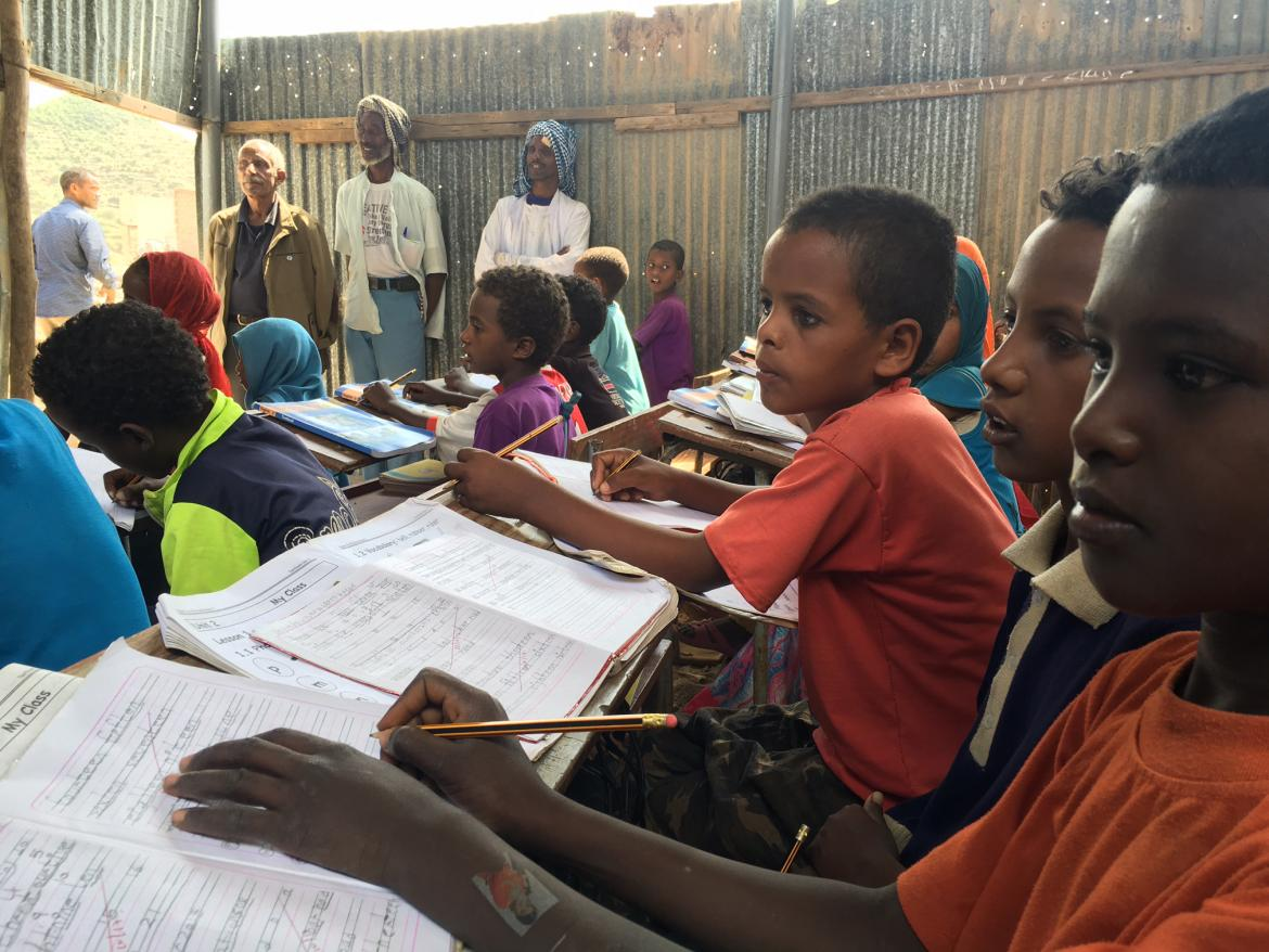 Eritrea is building a new foundation for its education