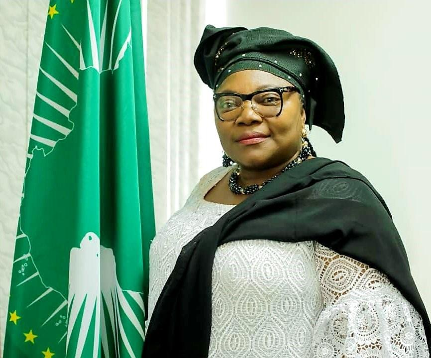 Prof. Sarah Agbor, AU's Commissioner of Education, Science, Technology, and Innovation