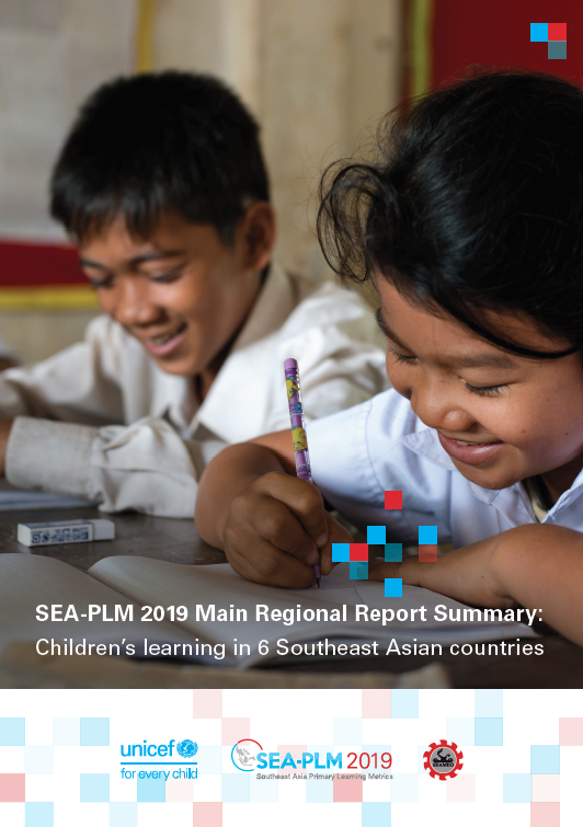 SEA-PLM 2019 Main Regional Report, Children's learning in 6 Southeast Asian countries