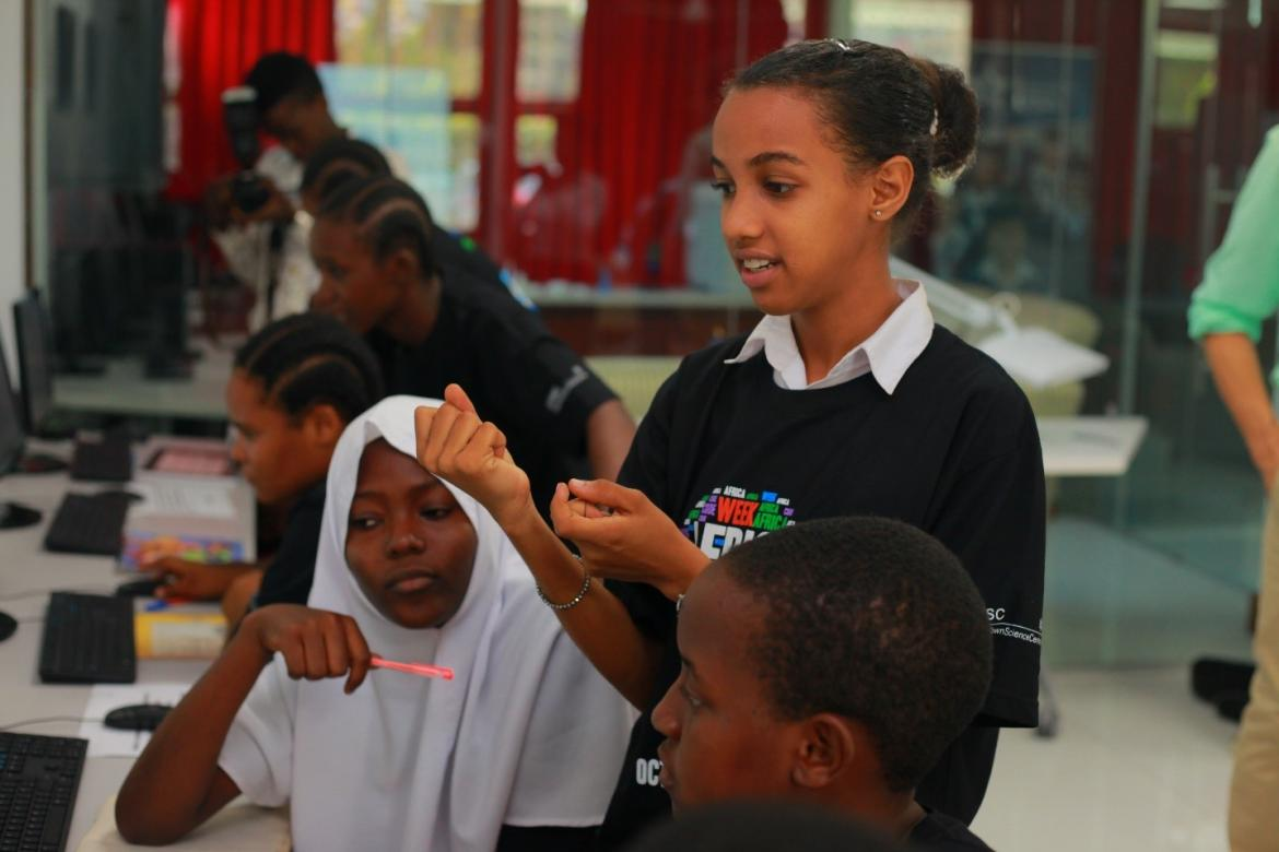 When girls become coding teachers to empower their peers with digital skills: Africa Code Week workshop organized by Apps and Girls in Dar es Salaam, Tanzania, October 2017