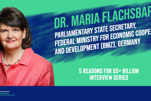 Image: 5 REASONS For $5+ billion: Maria Flachsbarth