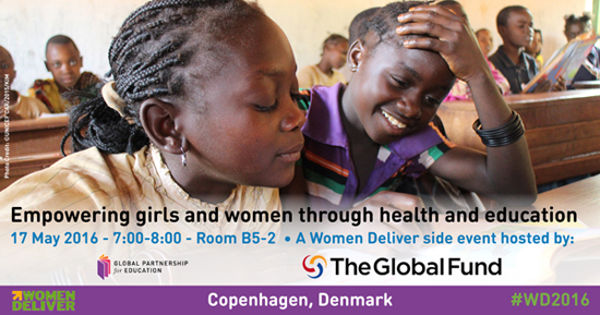 Linking health and education at Women Deliver