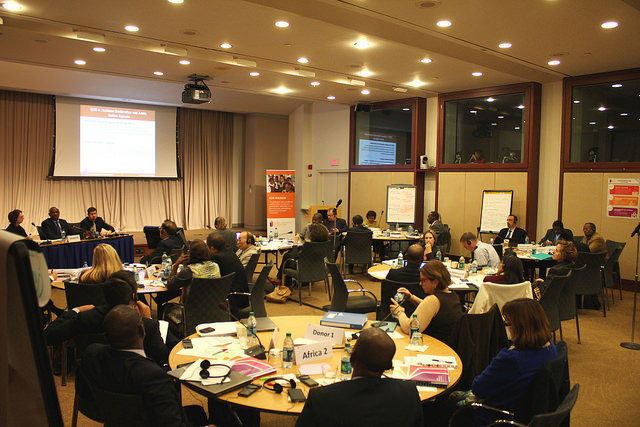 Retreat of the  GPE Board of Directors. Washington, DC. October 2015. Credit: GPE/Chantal Rigaud
