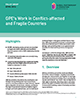 GPE's work in conflict-affected and fragile countries