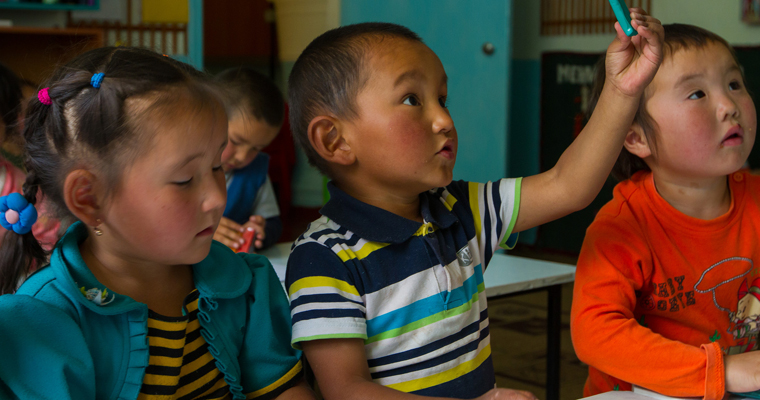 ADB community-based early childhood development project in Kyrgyz Republic. Credit: Asian Development Bank