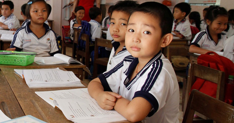 Vietnam has adopted the Escuela Nueva model from Colombia to create schools that are more participatory. Credit: GPE/Koli Banik