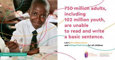 #FundEducation to #ShapeTheFuture for all children around the world