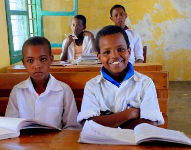 Children in class in Somaliland. Credit: UNICEF/Hana Yoshimoto