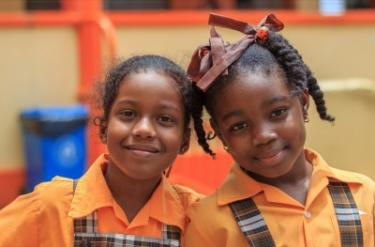 School girls in Saint Lucia. Credit: Joshua Vernor